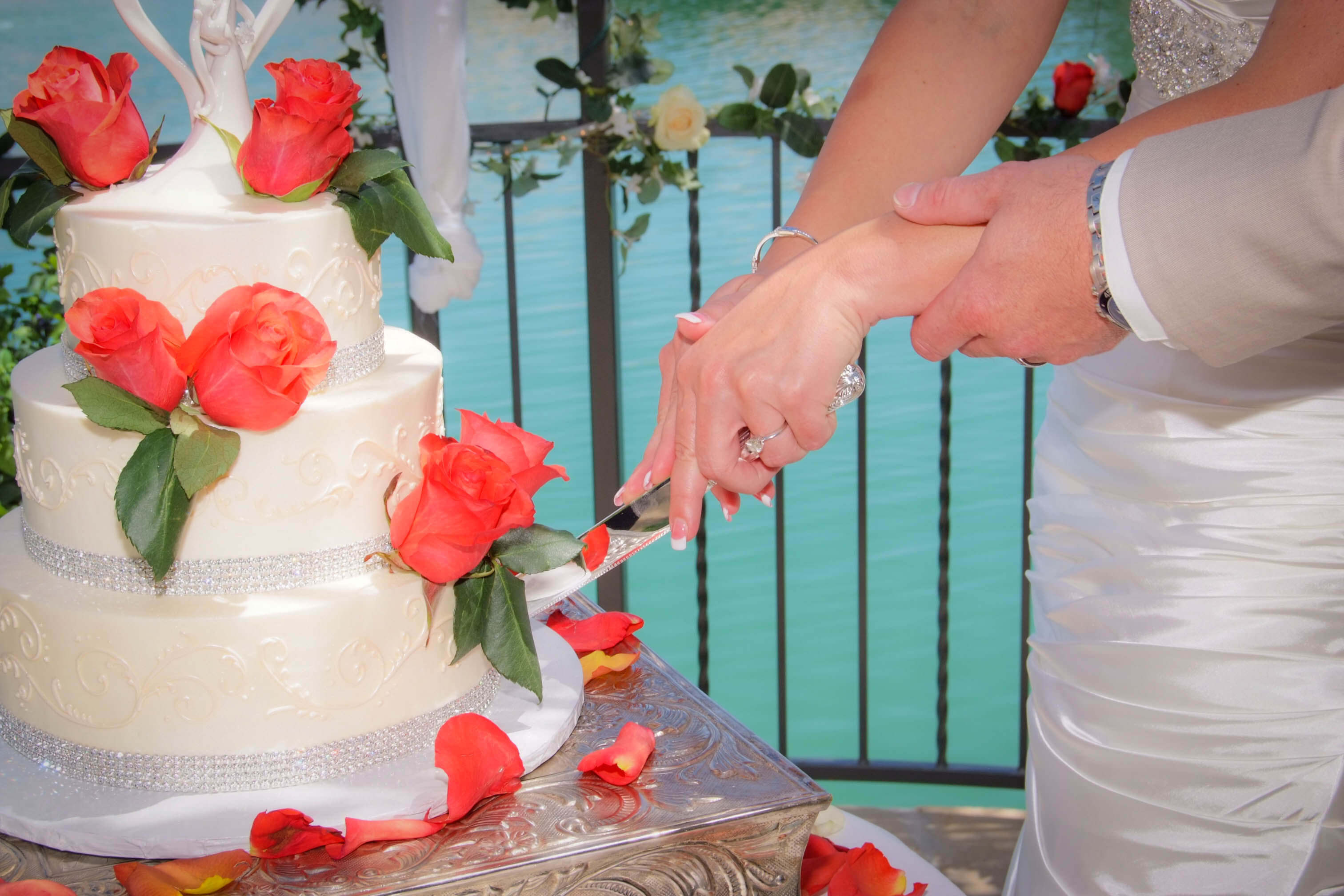 Swan Garden Sapphire All Inclusive Wedding Reception Package Up To 75 Guests Included
