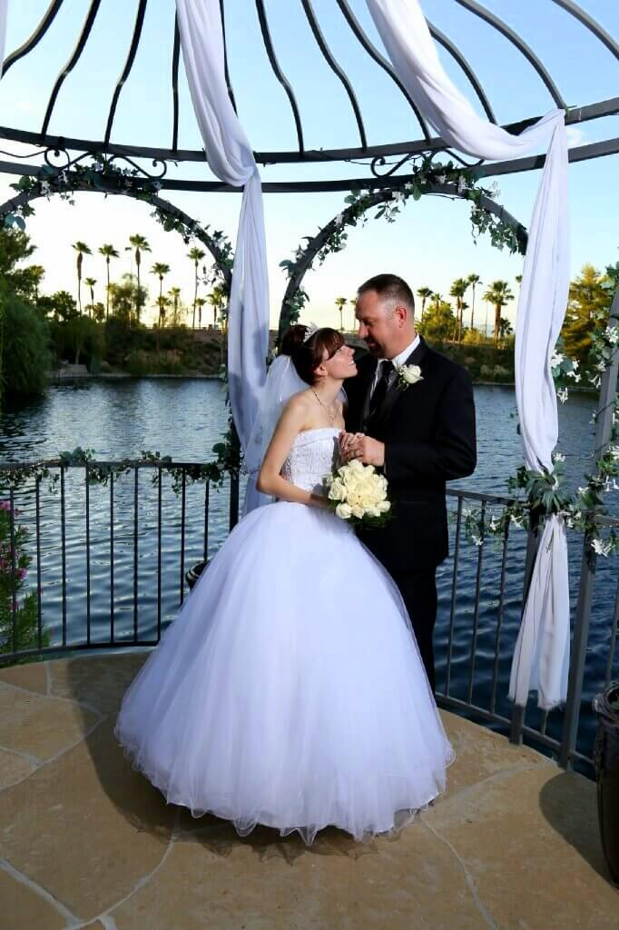 Swan Garden Diamond All Inclusive Vegas Wedding Reception Package