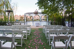 Garden Wedding Ceremony Venue