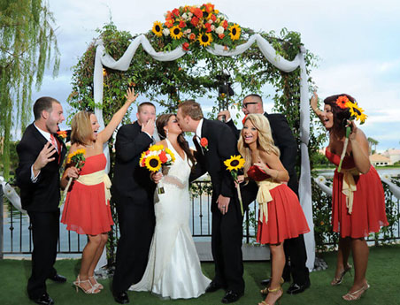 Las Vegas All Inclusive ceremony and reception wedding packages