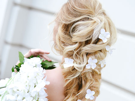 Desert Shores Community of Summerlin - Las Vegas Wedding Hairstyles