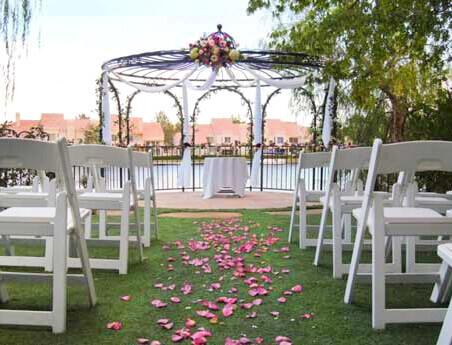 Gazebo Weddings - Las Vegas Ceremony Ideas