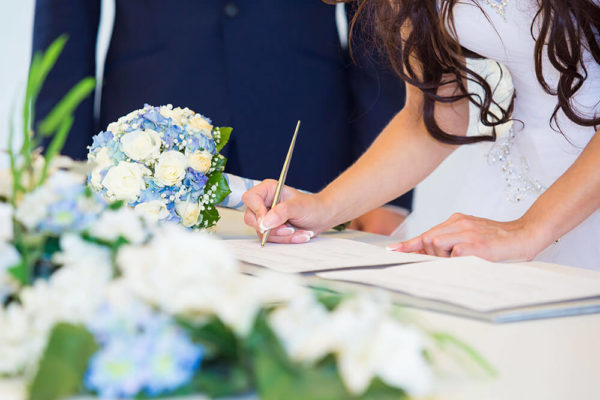 How Do You Apply for a Marriage License in Las Vegas for Your Wedding Ceremony