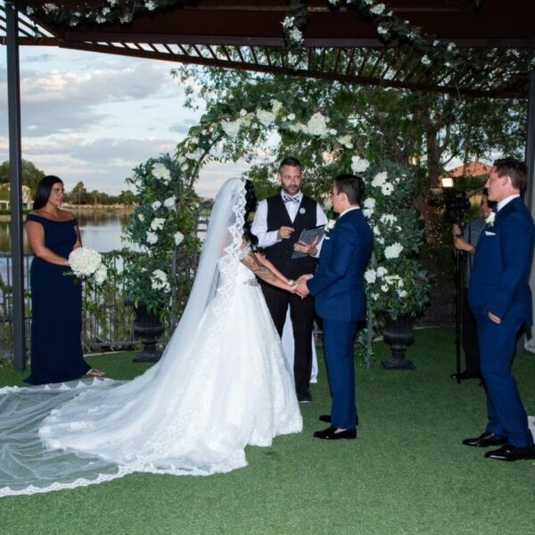 Affordable Chapel Ceremony Only Las Vegas Wedding Packages for 50 Guests or More