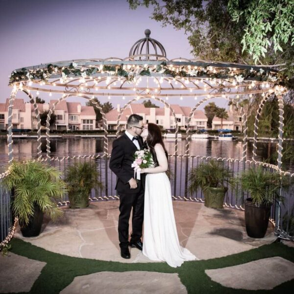 Ceremony Only Las Vegas Wedding Package at Lakeside Weddings and Events