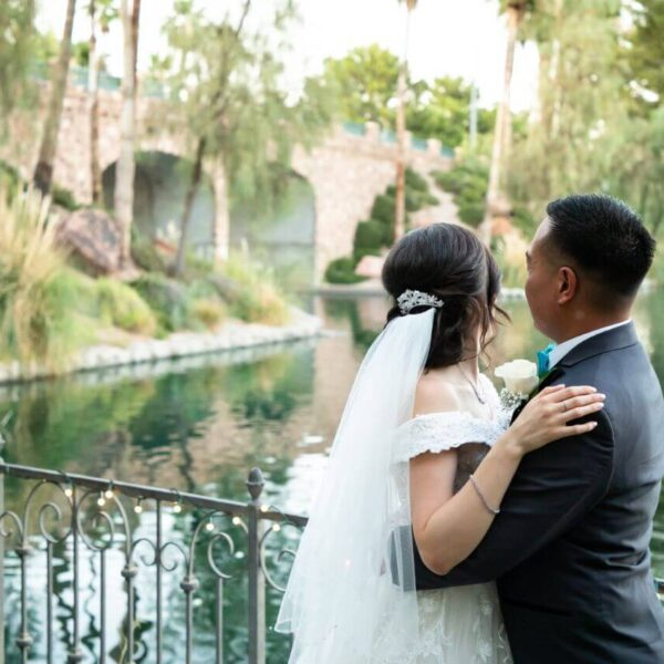Heritage Garden Laguna Las Vegas Ceremony Only Wedding Venue Package