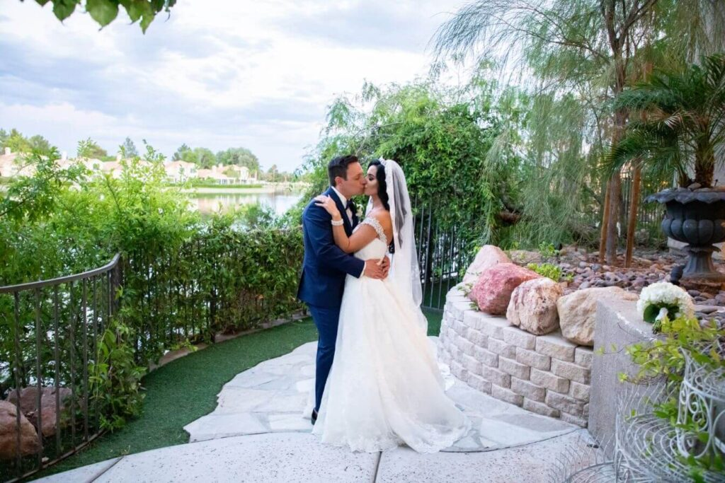 Lake View Las Vegas Ceremony Only Grand Garden Wedding Package
