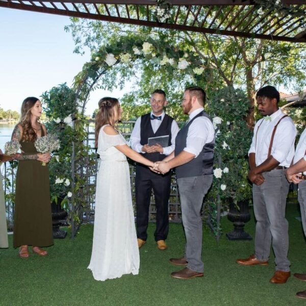 Lakefront Ceremony Only Las Vegas Wedding Chapel Package