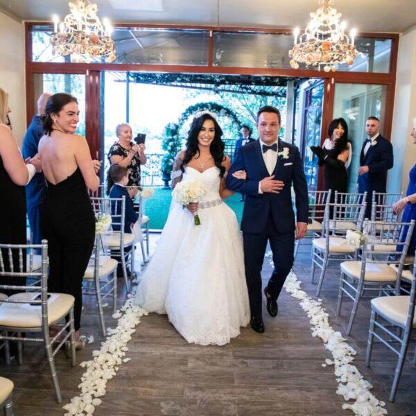 Las Vegas Ceremony and Reception All Inclusive Indoor Wedding Chapel Package