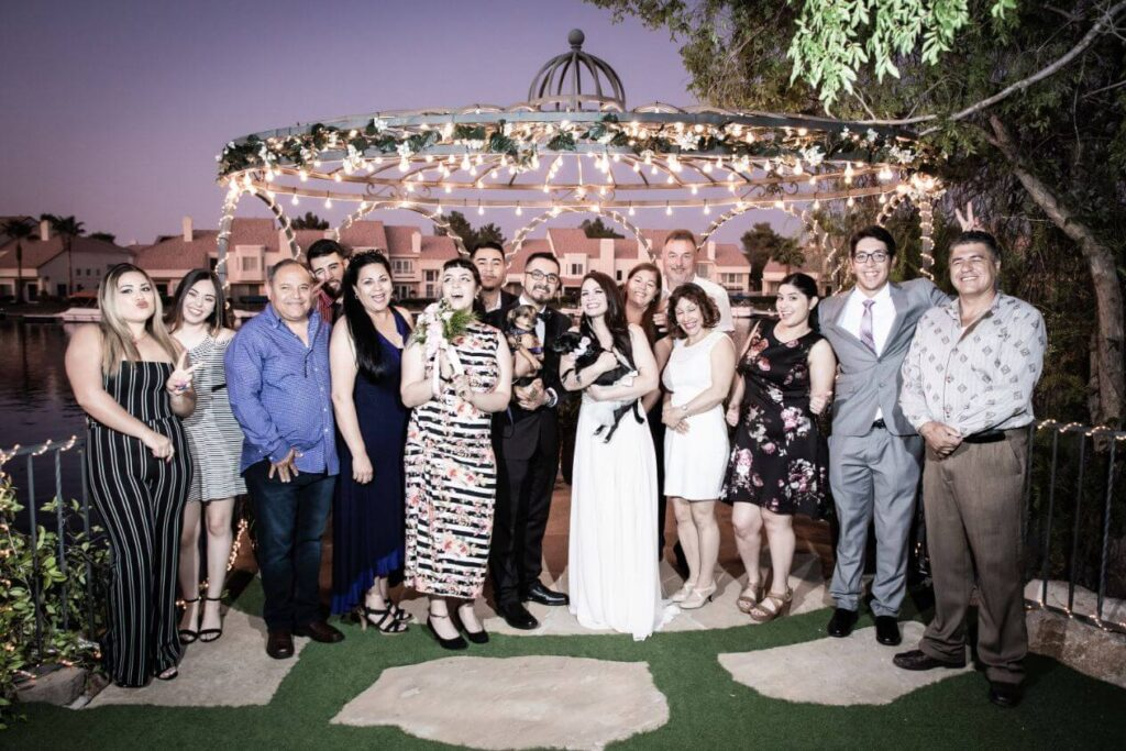 Las Vegas All Inclusive Wedding Ceremony and Reception Package at Lakeside Weddings & Events