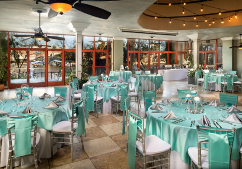 Las Vegas Reception Only Packages for The Lakeside Weddings & Events Grand Atrium Banquet Hall