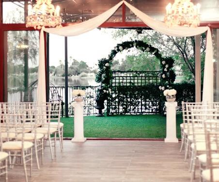 Lakeside Wedding Chapel Near Downtown Vegas