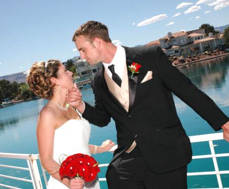 Las Vegas Wedding Chapel with Beautiful Lake Views