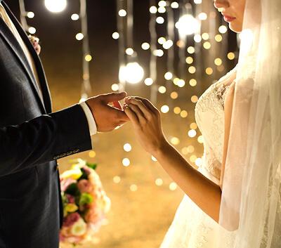 Nighttime Ceremonies in Las Vegas - Lakeside Weddings and Events in Summerlin