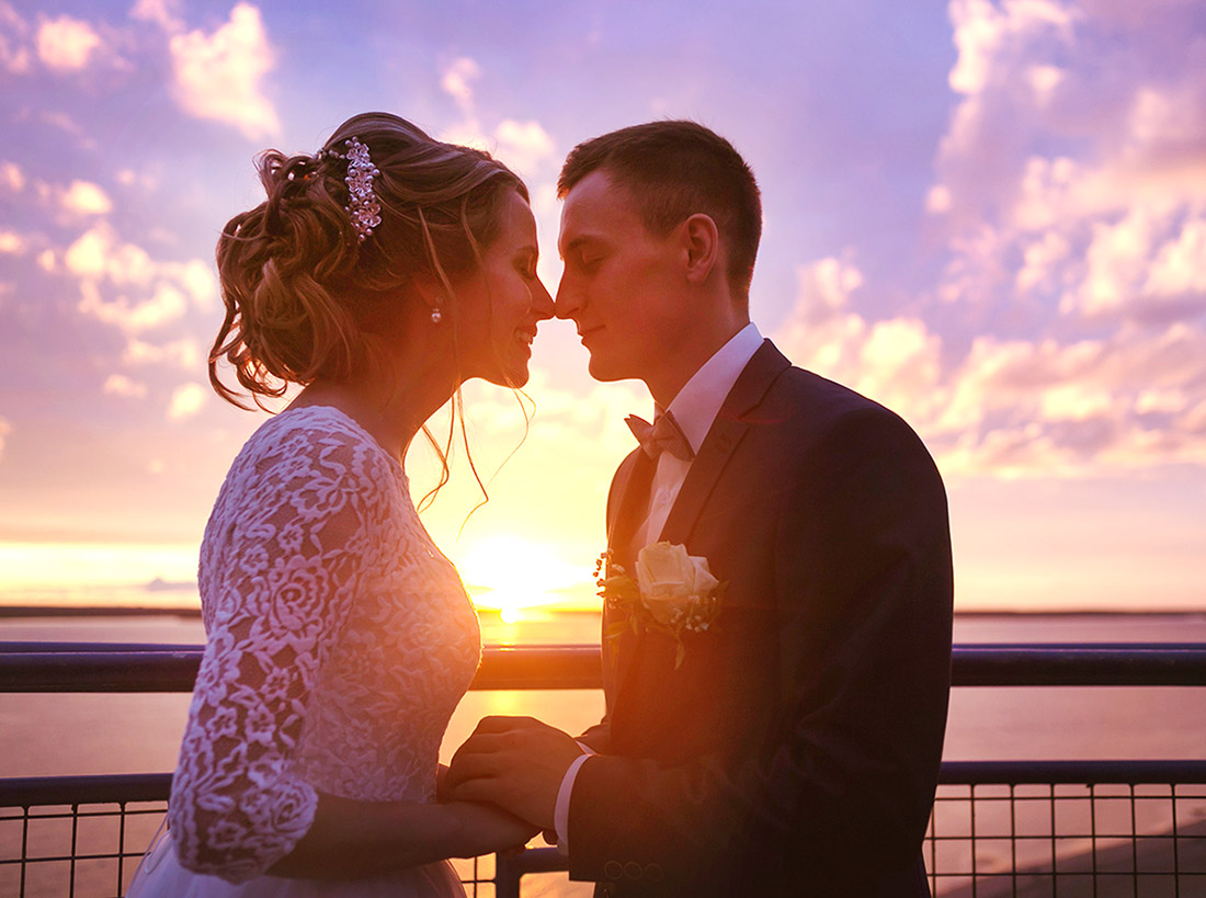 Las Vegas Sunset Ceremony at Lakeside Weddings and Events