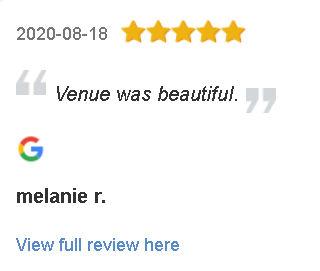 Lakeside Weddings and Events Las Vegas Ceremony and Reception Google Reviews