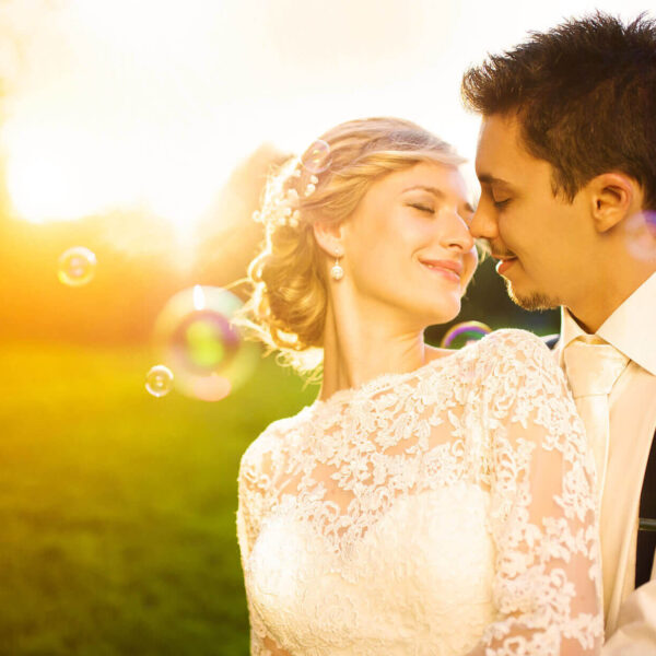 Las Vegas Sunset Wedding Venue Ceremony Packages with Lake and Garden Views