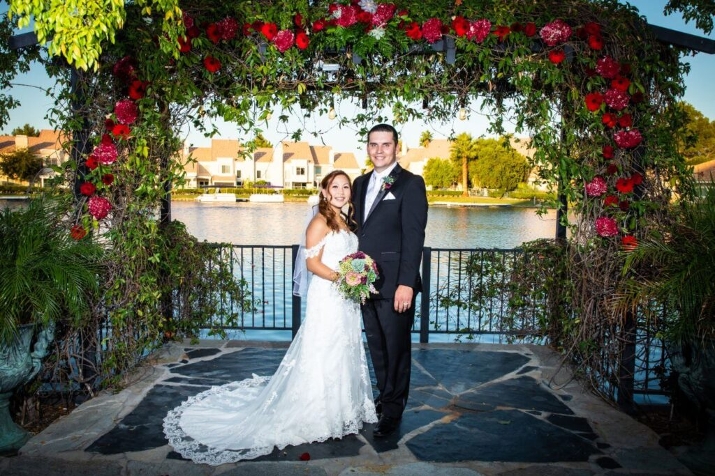 Outdoor Las Vegas Ceremony Only Grand Garden Wedding Package