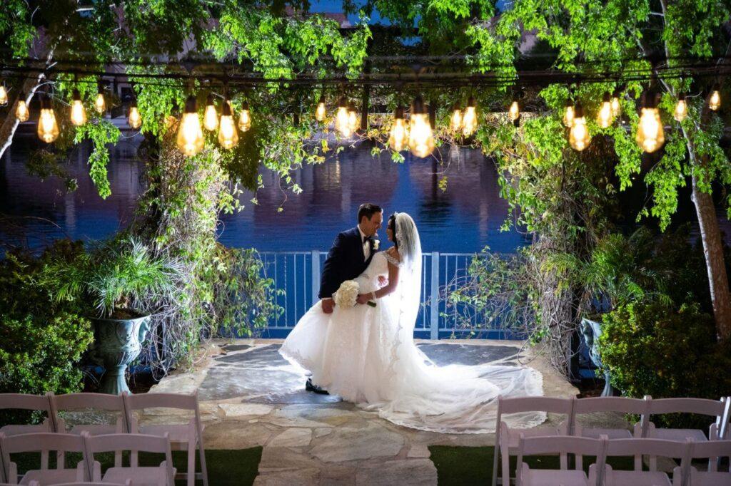 Grand Garden Las Vegas Ceremony Only Wedding Venue Package