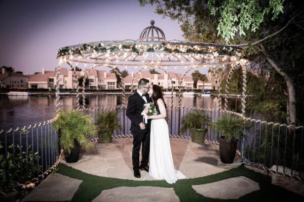 Swan Garden Ceremony Only Wedding Packages in Las Vegas