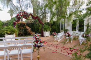 Lakeside Weddings & Events Waterfall Garden Ceremony and Reception All Inclusive Wedding Venue Packages in Las Vegas