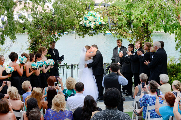 All Inclusive Ceremony and Reception Las Vegas Outdoor Wedding Packages for the Heritage Garden Venue