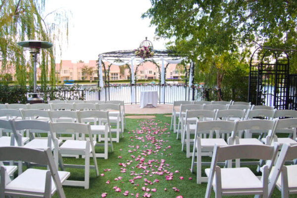 Affordable Las Vegas Wedding Venue Swan Garden Ceremony Only Packages