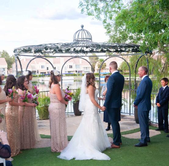 Las Vegas Gazebo Wedding Ceremony Only Venue Packages