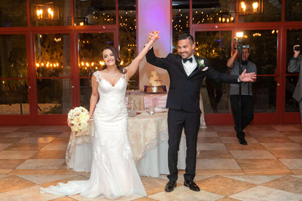 Grand Garden All Inclusive Las Vegas Outdoor Wedding Packages Featuring Elegant Banquet Hall and Lakeside Ceremony Site