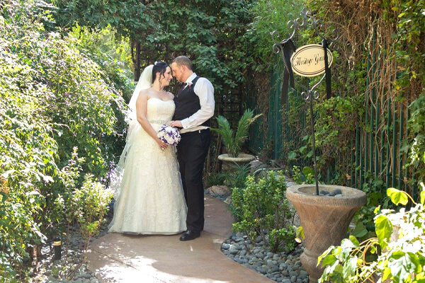 All Inclusive Ceremony and Reception Las Vegas Gazebo Wedding Packages for the Heritage Garden Venue