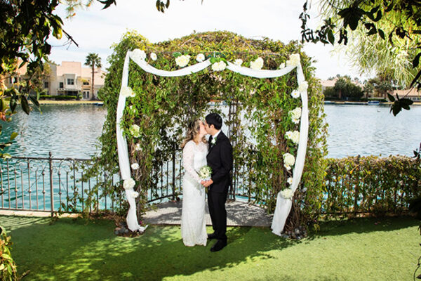 All Inclusive Ceremony and Reception Las Vegas Lake Wedding Packages for the Heritage Garden Venue