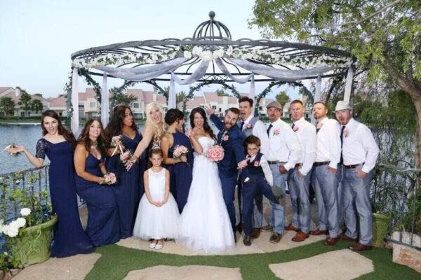 All Inclusive Las Vegas Wedding Venue Ceremony and Reception Swan Garden Packages