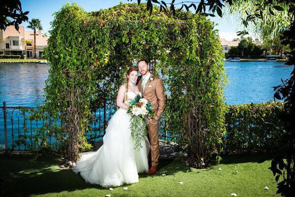 Las Vegas Ceremony Gazebo Wedding Packages for the Heritage Garden Venue