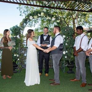 Lakefront Ceremony Only Las Vegas Wedding Venue Chapel Package