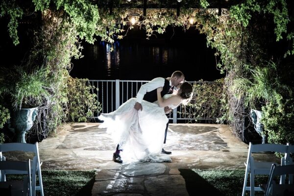 Las Vegas Wedding Reception Hall Venues and Packages with Lakefront Gazebos and Gardens
