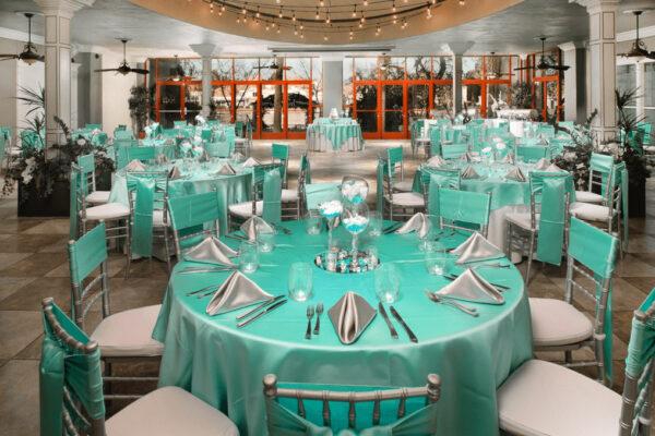 Las Vegas Wedding Reception Hall Venue Packages for Grand Atrium Banquet Room