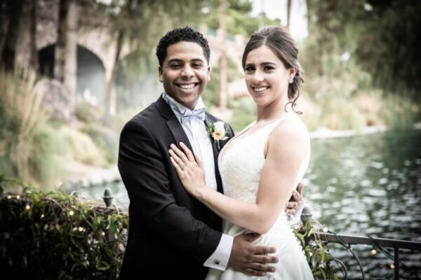 Modern Las Vegas Wedding Reception Hall Venue Packages with Lakefront Banquet Rooms