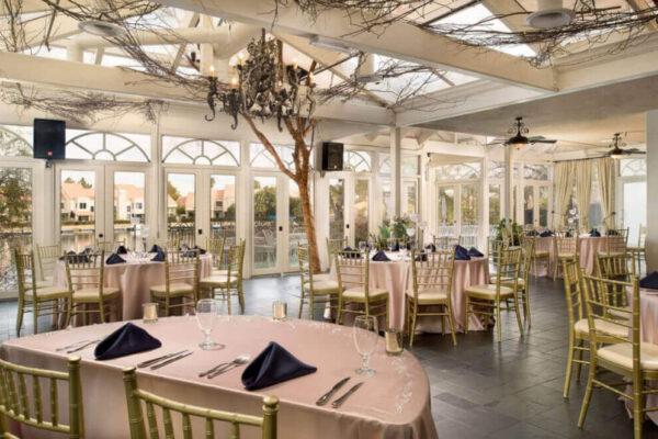 Las Vegas Wedding Reception Hall Venue Packages for Swan Banquet Room