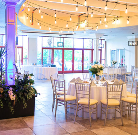 Las Vegas Wedding Reception Hall Venue Only Packages at Lakeside Weddings and Events