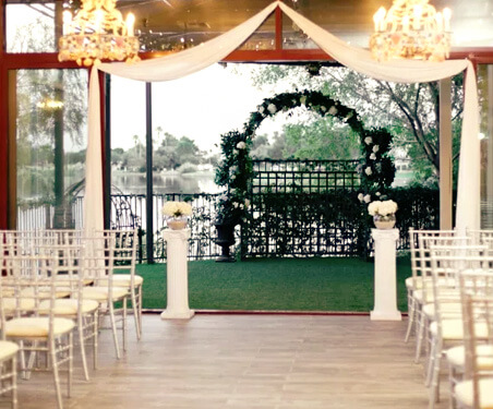 Planning Tips for Las Vegas Ceremony and Reception All Inclusive Indoor Wedding Chapel Venue Package