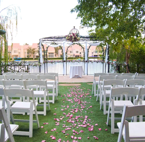 Affordable Las Vegas Gazebo Wedding Venues and Packages for All Inclusive and Ceremony Options